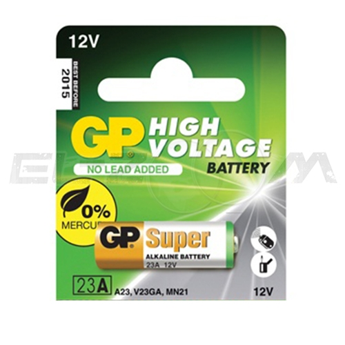 "Батарейка высоковольтная ""GP Batteries"", тип 23А"