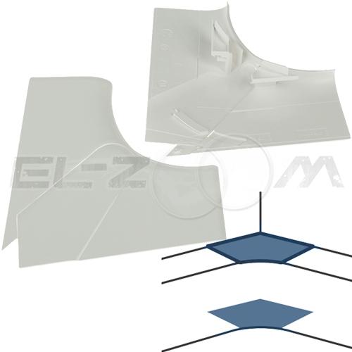 Угол внутренний для короба 105x50мм. Legrand DLP