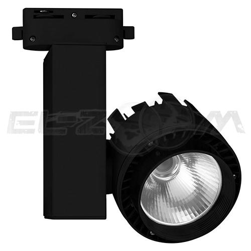 Трековый светодиодный светильник 20Вт 4500К 1200lm Volpe ULB-Q250 20W/NW/A Black