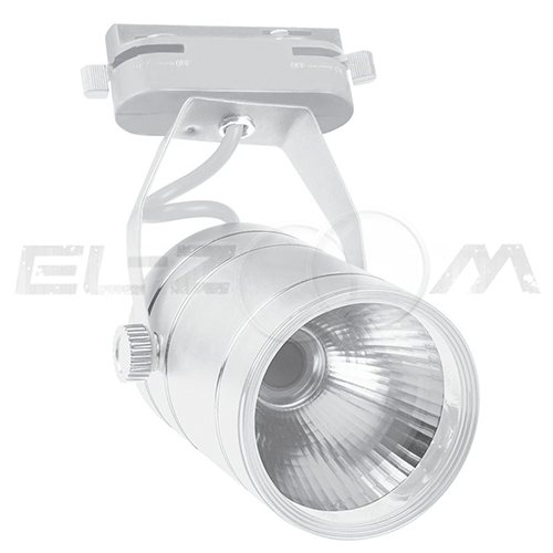 Трековый светодиодный светильник 9Вт 4500K 600lm Volpe ULB-Q251 9W/NW/K White