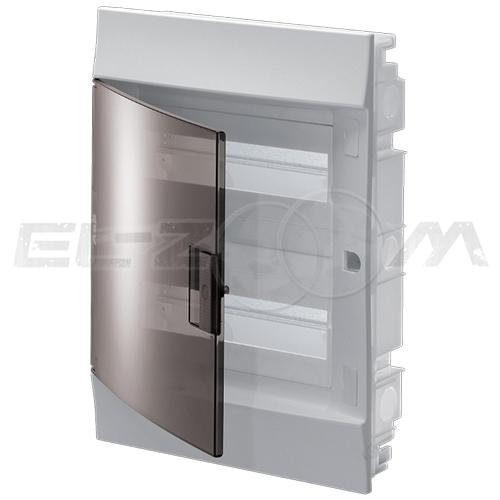 Бокс ABB Mistral41 в нишу 24М с прозрачной дверцей, белый