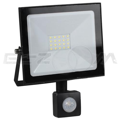 Светодиодный прожектор с датчиком движения EAEC 30Вт IP65 2400Лм