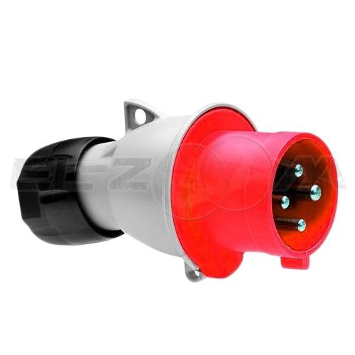 Вилка силовая кабельная 3к+З 32А IP44 ABB 332 Р6
