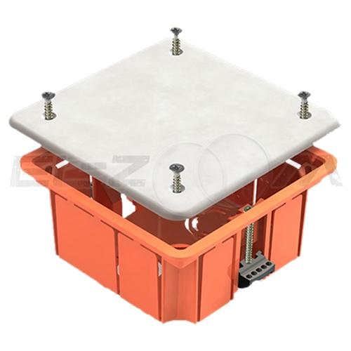 Распаячная коробка 92х92х45мм Greenel IP20 для полых стен