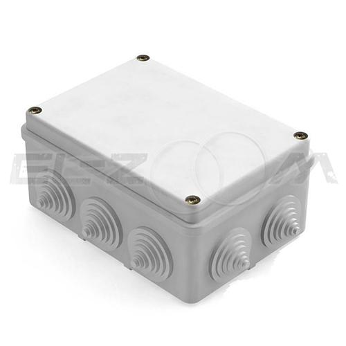 Распаячная коробка 150x110x70мм Greenel IP55 наружного монтажа серая