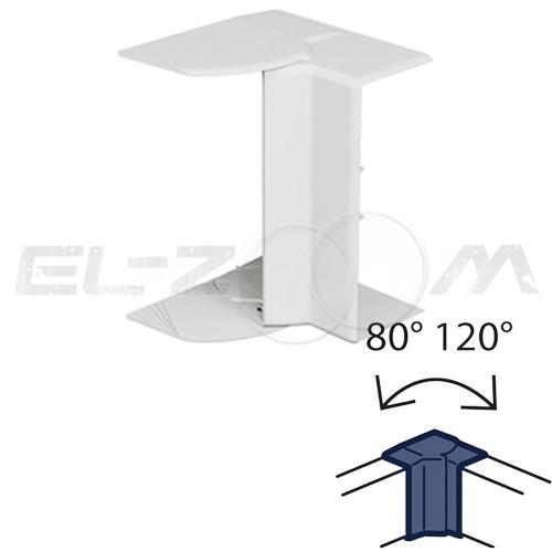 Угол внутренний изменяемый 80-120° для кабель-канала 100x50 Legrand METRA