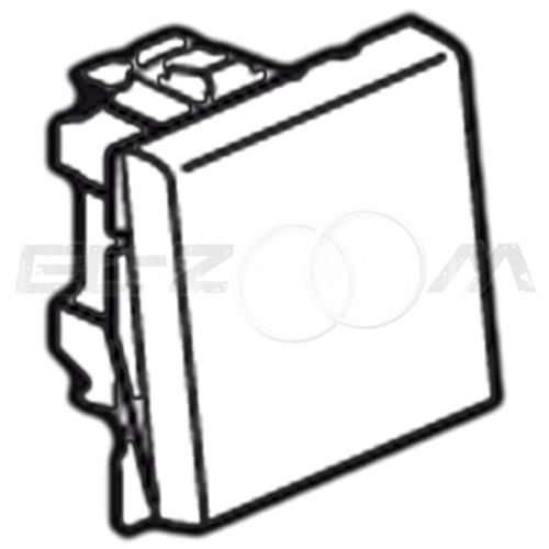 Выключатель 1-клавишный 2м. Legrand Mosaic белый 10А