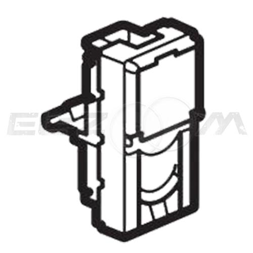 Розетка телефонная RJ-11 1 коннектор 1м. Legrand Mosaic белая