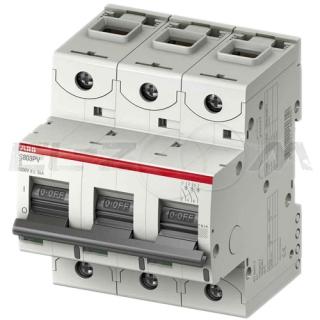 Автоматический выключатель ABB S803 3п C125 25кА