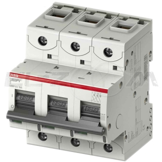 Автоматический выключатель ABB S803 3п C100 25кА