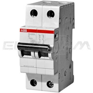 Автоматический выключатель ABB SH202L 2п C10 4,5кА