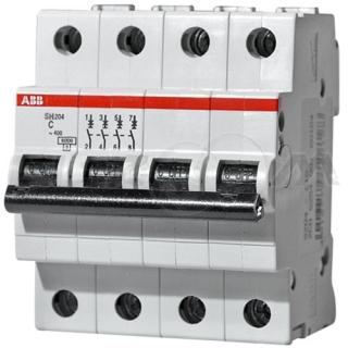 Автоматический выключатель ABB SH204L 4п C40 4,5кА