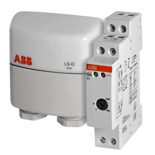 Реле освещения ABB T-1 с датчиком 1 канал