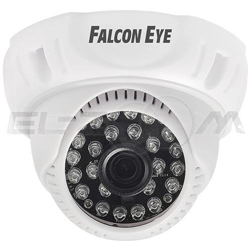 Видеокамера уличная гибридная IP66 2MP FE-ID1080MHD/20M