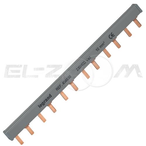 Шина соединительная (гребенка) Legrand PIN 2p 63А 12 модулей