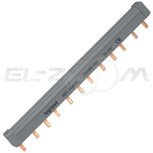 Шина соединительная (гребенка) Legrand PIN 3p 63А 12 модулей