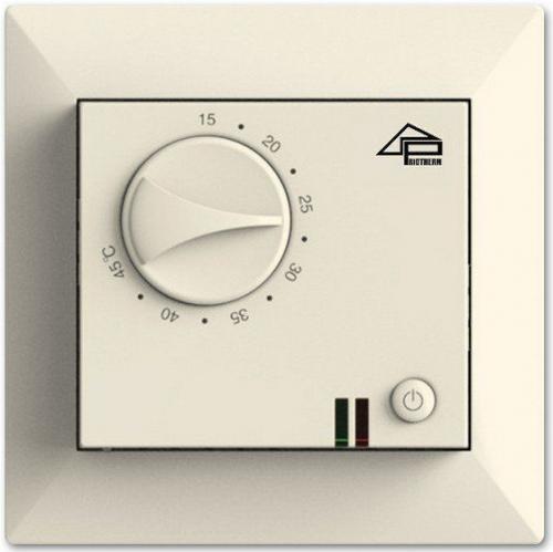 Терморегулятор механический для теплого пола Priotherm PR-109 крем