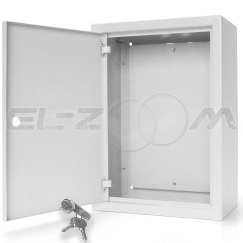 Щит с монтажной панелью ЩМП-07 металл. навесной, серый