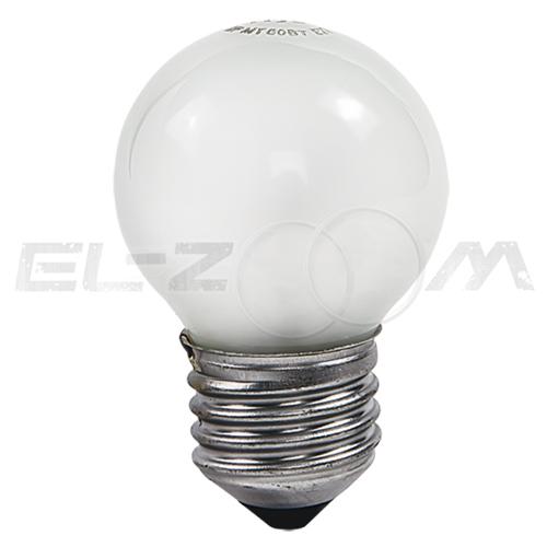 Лампа накаливания ШАР ASD P45 40Вт E27 матовая
