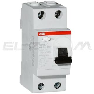 Устройство защитного отключения ABB FH202 2п 40А 30мА AC