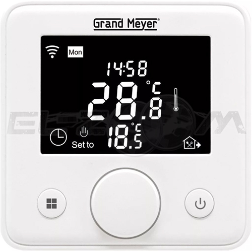 Терморегулятор электронный программируемый для теплого пола W330 WI-FI