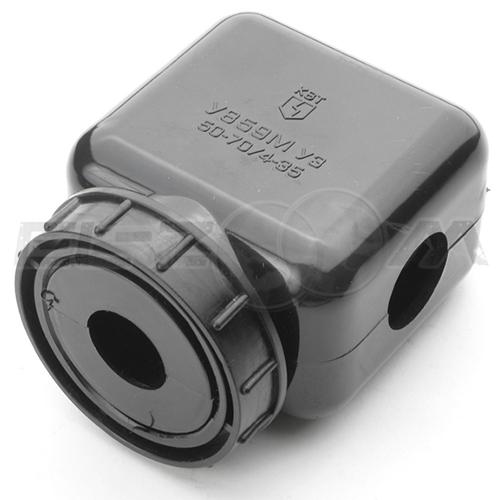 Сжим кабельный (орех) КВТ У859М ответвительный 50-70/4-35