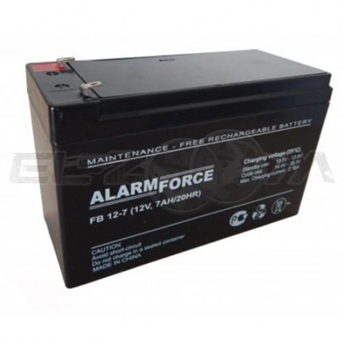 АКБ-7 аккумулятор 7А/ч, 12В