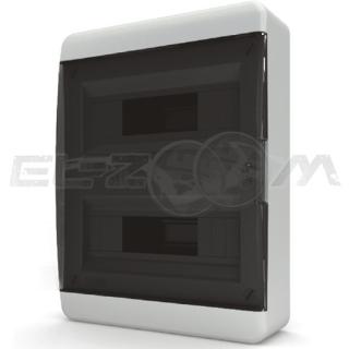 Бокс Tekfor серия B навесной 24М с прозрачной дверцей, белый