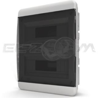 Бокс Tekfor серия B в нишу 24М с прозрачной дверцей, белый