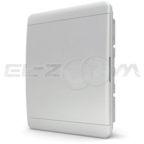 Бокс Tekfor серия B в нишу 24М с белой дверцей, белый