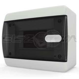 Бокс Tekfor серия C навесной 6М с прозрачной дверцей, белый