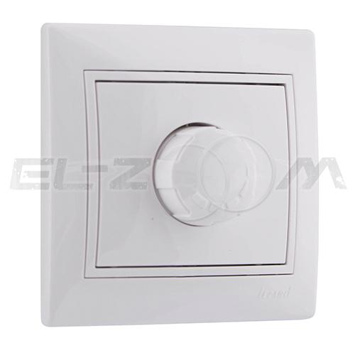 Светорегулятор поворотный 800W ETO Zera белый
