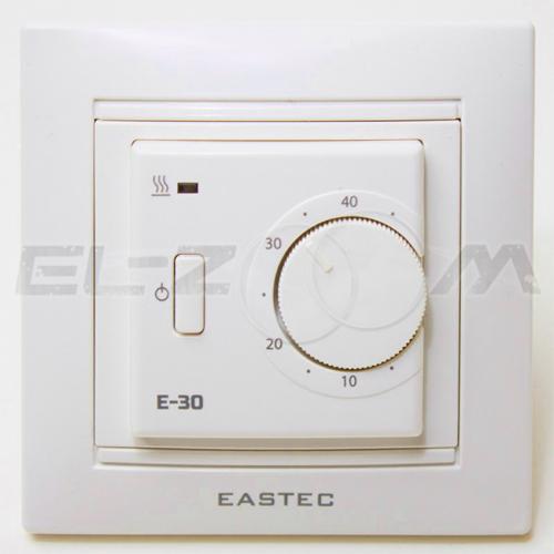 Терморегулятор механический для теплого пола EASTEC E30 крем