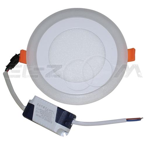 Светодиодная панель с подсветкой (3 режима) круглая Eleganz 12Вт 230В 4500К 840Лм IP20