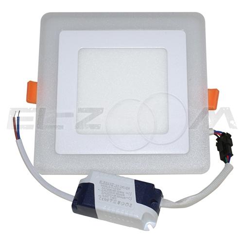 Светодиодная панель с подсветкой (3 режима) квадратная Eleganz 12Вт 230В 4500К 840Лм IP20