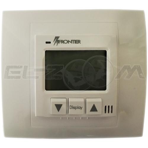 Терморегулятор электронный для теплого пола Frontier ТН-0502R кремовый