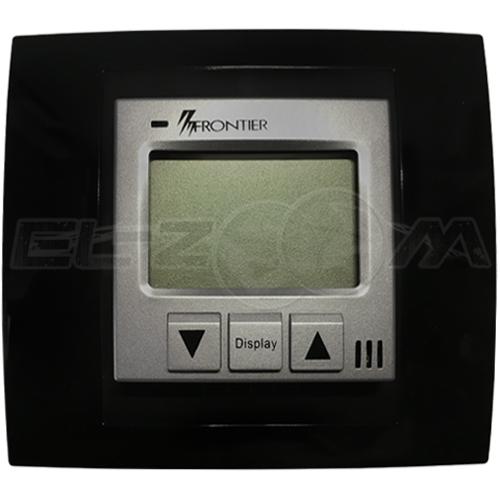 Терморегулятор механический для теплого пола Frontier ТН-0502R алюминиевый