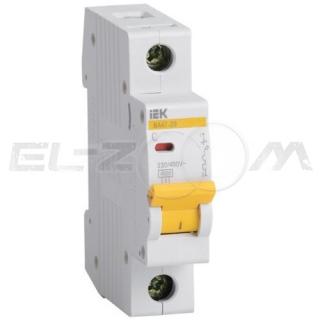 Автоматический выключатель IEK ВА47-29 1п C20 4,5кА