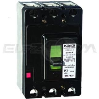 Автоматический выключатель КЭАЗ ВА57Ф35 3п А160 10кА