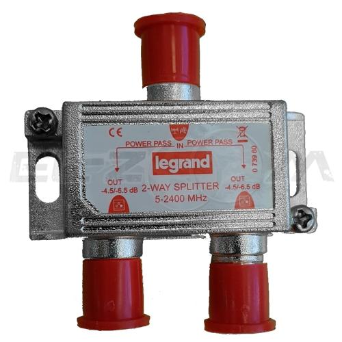 """TV делитель """"краб"""" Legrand 2ТВ 5-2400МГц"""