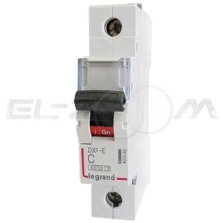 Автоматический выключатель Legrand DX3-E 1п C20 6кА