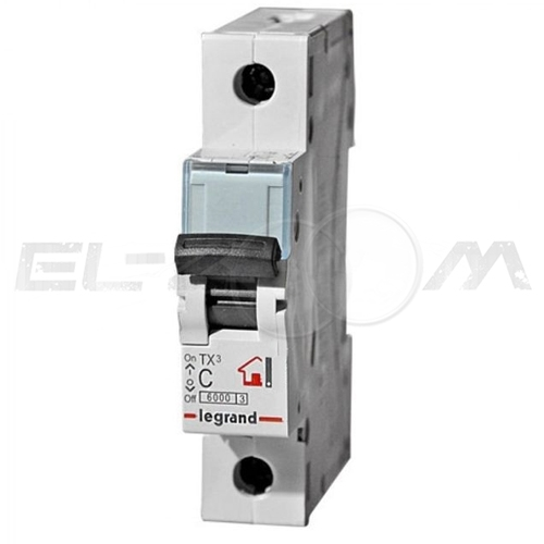 Автоматический выключатель Legrand TX3 1п C10 6кА
