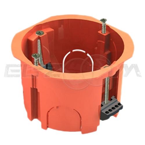 Установочная коробка D=70мм (подрозетник) Greenel для полых стен