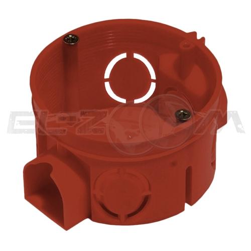 Установочная коробка D=68мм (подрозетник) Greenel для кирпичных и бетонных стен