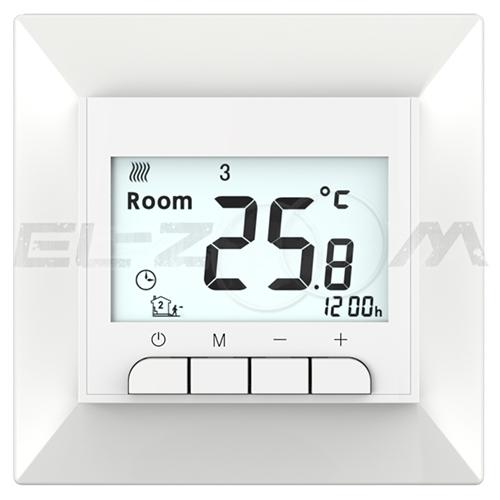 Терморегулятор программируемый для теплого пола Priotherm PR-119 белый