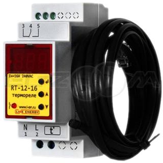 Реле температуры Line Energy RT-12-16 16A 220В AC