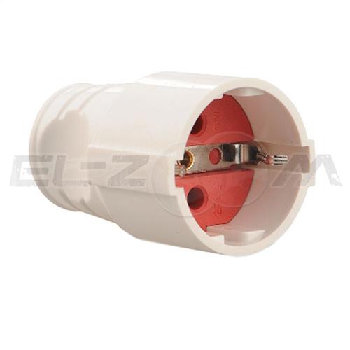 Розетка кабельная 1 гнездо однофазная
