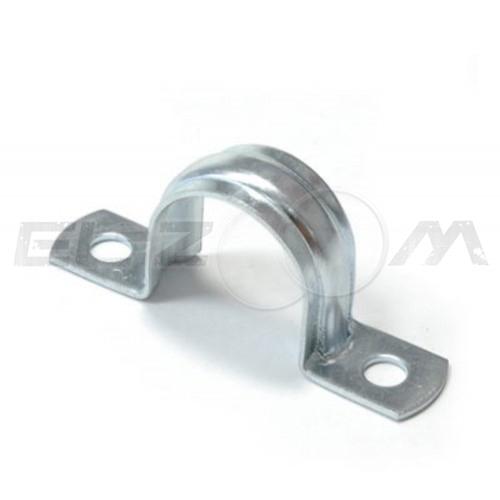 Крепежная скоба металлическая двухлапковая 12-13мм (100шт.)