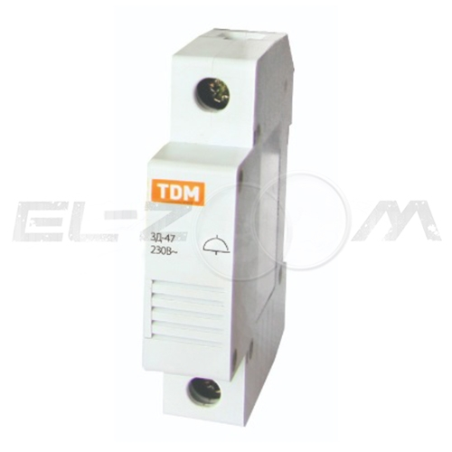 Звонок ЗД-47 на DIN-рейку TDM SQ0215-0001