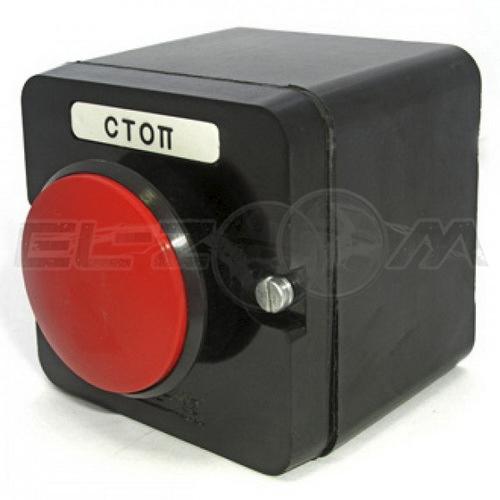 Пост кнопочный ПКЕ 222-1 1 кнопка красный гриб IP54 TDM